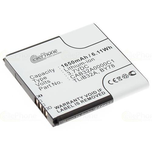 cellePhone Akku Li-Ion kompatibel mit Alcatel OT-6010 / OT-991 / OT-992 (Ersatz für CAB32A0000C1)