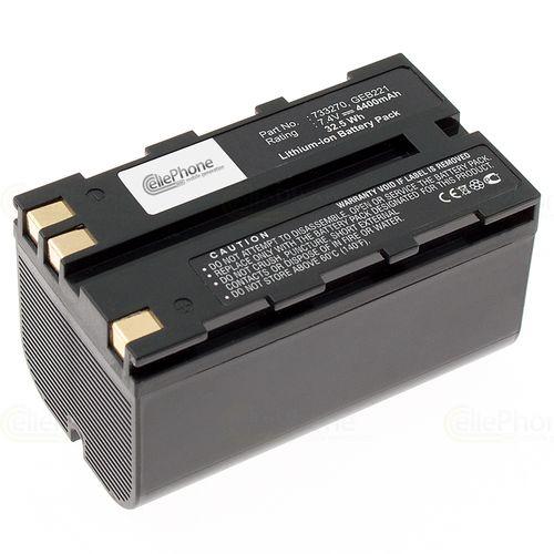cellePhone Akku Li-Ion kompatibel mit Leica ATX900 / GPS900 / Piper 100 / RX900 / TC1200 (Ersatz für GEB211) - 4400 mAh