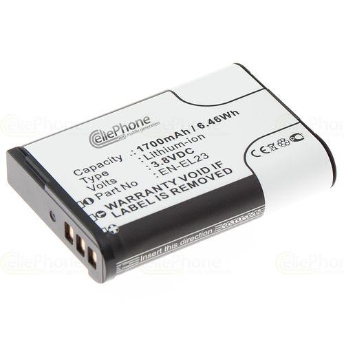 cellePhone Akku Li-Ion kompatibel zu Nikon EN-EL23