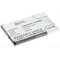Akku Li-Ion für Motorola DEFY+ / DEFY mini / FIRE XT (ersetzt HF5X) günstig online kaufen