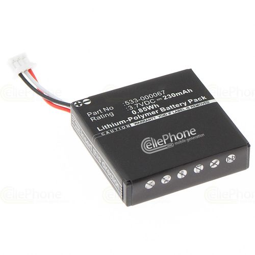 cellePhone Battery Li-Polymer for Logitech H800 (replaced AHB472625PST)