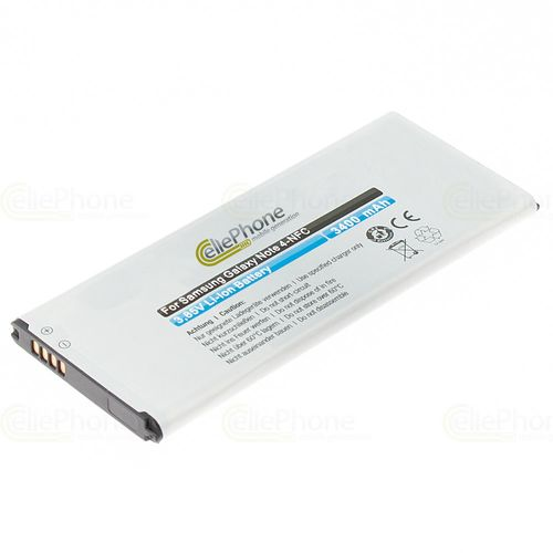 cellePhone Battery Li-Ion for Samsung Galaxy Note 4 (SM-N910F) (replaced EB-BN910BBE) - with NFC