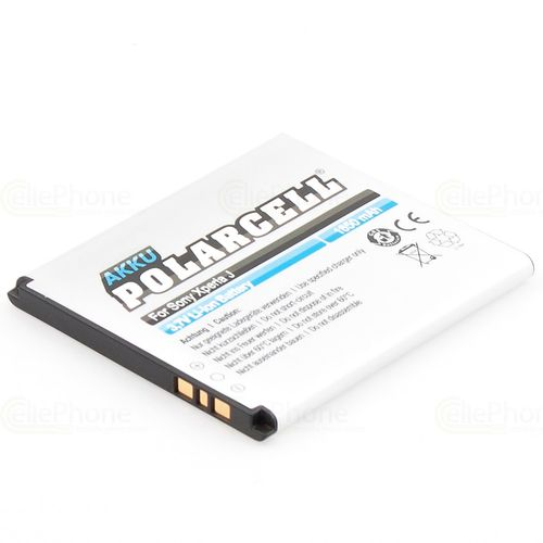 cellePhone PolarCell Akku Li-Ion kompatibel mit Sony Xperia E1 / J / L / M / TX (Ersatz für BA900)