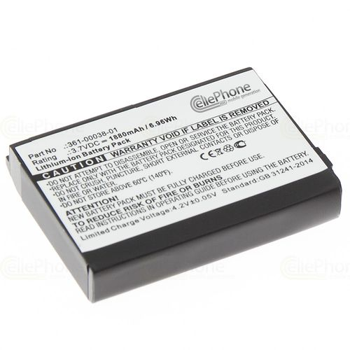 cellePhone Battery Li-Ion for Garmin Aera 500 510 550 560 - Nüvi 500 510 550 - Zumo 220 600 650 660 660LM (replaced 361-00038-01)