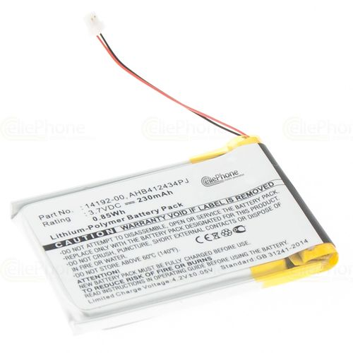 cellePhone Battery Li-Polymer for Jabra Pro 9400 9450 9460 9465 9470 (replaced AHB412434PJ)