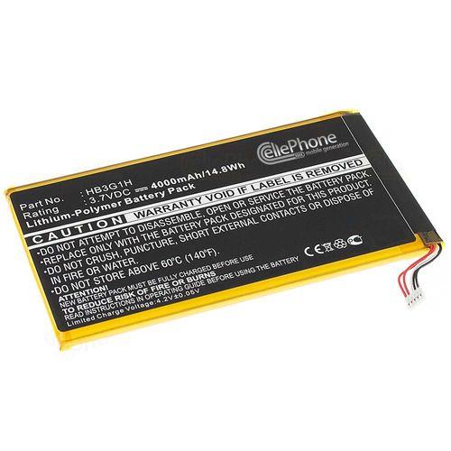 cellePhone Akku Li-Polymer für Huawei MediaPad 7 Lite (ersetzt HB3G1H)