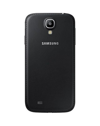 Original Samsung Galaxy S4 (GT-I9500) Akkudeckel - Lederoptik schwarz
