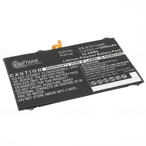 cellePhone Battery Li-Polymer for Samsung Galaxy Tab S2 9.7 (SM-T815) (replaced EB-BT810ABE)