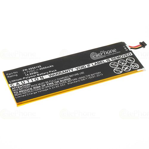cellePhone Battery Li-Polymer for Insignia Flex 8 (replaced PR-3956155)