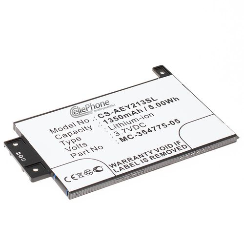 cellePhone Battery Li-Ion for Amazon Kindle Paperwhite 2013 (replaced MC-354775-05)