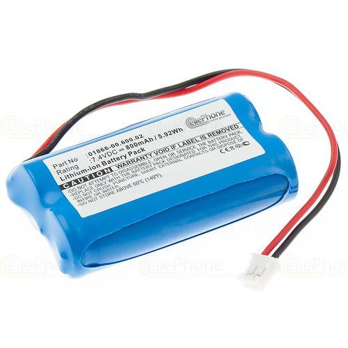 cellePhone Akku Li-Ion kompatibel mit Gardena C1060 plus Solar (Ersatz für 01866-00.600.02)