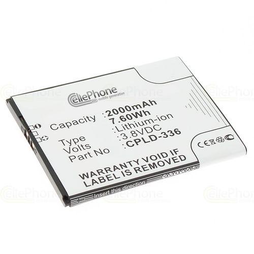 cellePhone Akku Li-Polymer kompatibel mit Medion Life P5001 (Ersatz für CPLD-336)