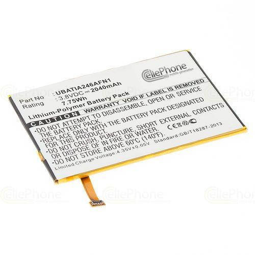 cellePhone Akku Li-Polymer kompatibel mit Sharp Aquos Crystal (Ersatz für UBATIA246AFN1)