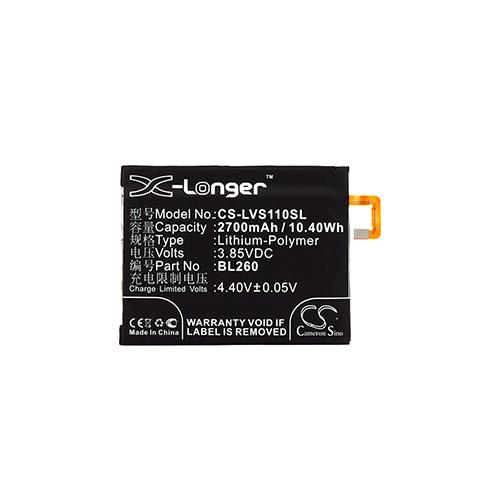 cellePhone Akku Li-Polymer für Lenovo Vibe S1 Lite (ersetzt BL260)