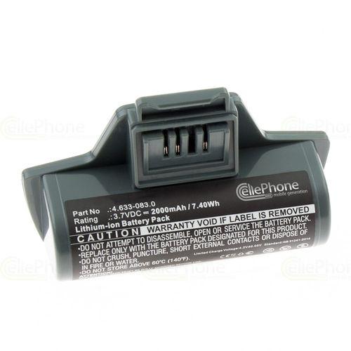 cellePhone Battery Li-Ion for Kärcher WV5 WV7 WV50 WV55 WV60 WV70 Plus (replaced 4.633-083.0) - 2000 mAh
