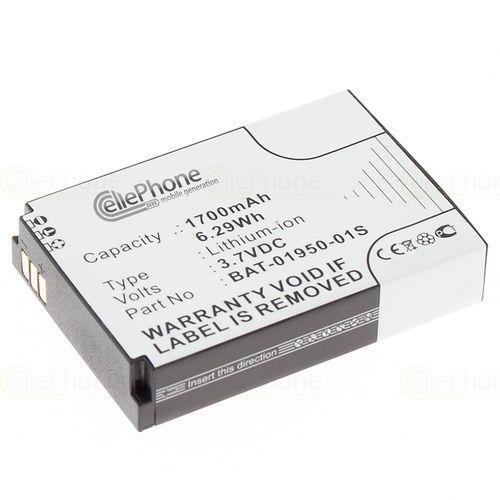 cellePhone Akku Li-Ion kompatibel mit Socketmobile Sonim XP Strike XP3410 (Ersatz für BAT-01950-01S)