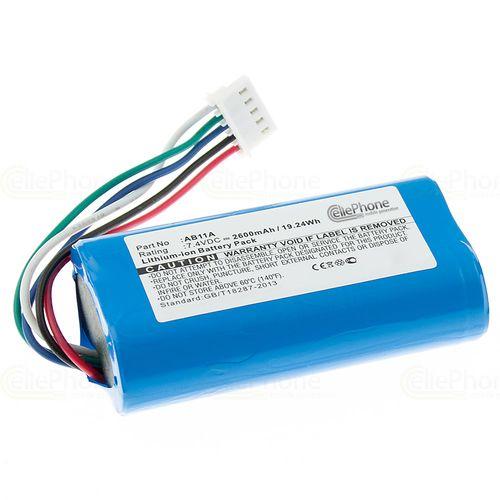 cellePhone Akku Li-Ion kompatibel mit 3DR Solo Transmitter (Ersatz für AB11A) - 2600 mAh