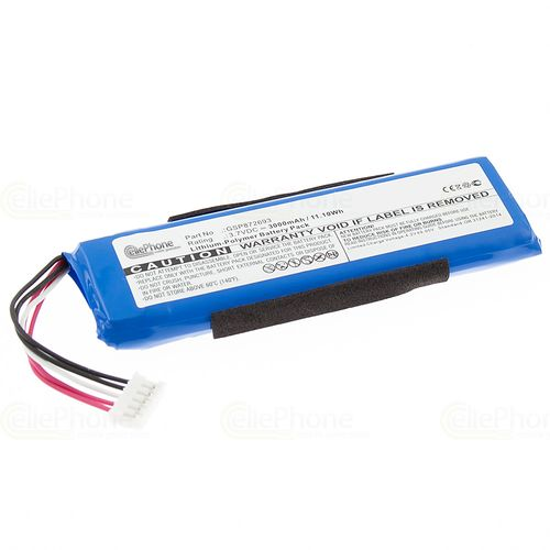 cellePhone Battery Li-Polymer for JBL Flip 3 (replaced GSP872693)