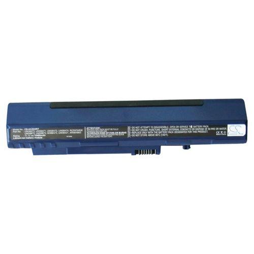 cellePhone Battery Li-Ion compatible with Acer UM08A72 / UM08A73 - blue - 10400 mAh
