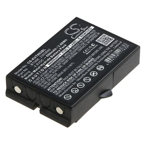 cellePhone Batterie Ni-MH pour Ikusi Rad-TF Transmitters (remplace BT06K) 4,8V