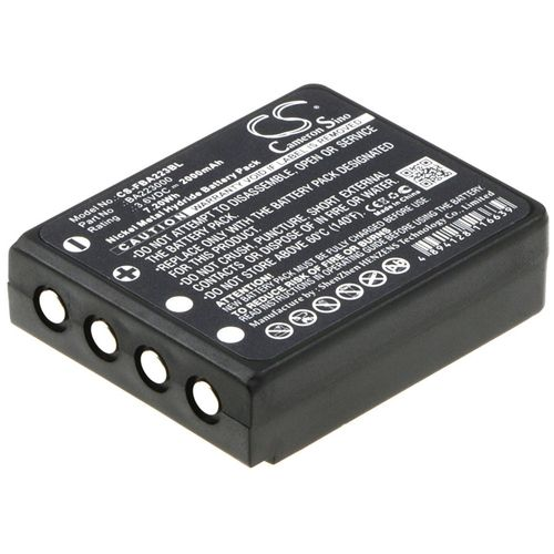 cellePhone Battery Ni-MH for HBC Radiomatic BA223000 BA223030 - black (replaced BA223000) - 2000 mAh