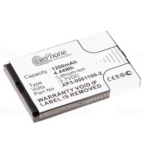 cellePhone Akku Li-Ion kompatibel mit Socketmobile Sonim XP3-S (Ersatz für XP3-0001100-2)