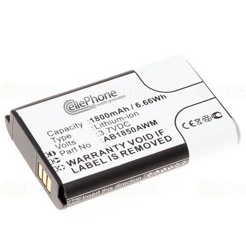 cellePhone Battery Li-Ion for Philips Xenium X500 (replaced AB1850AWM)