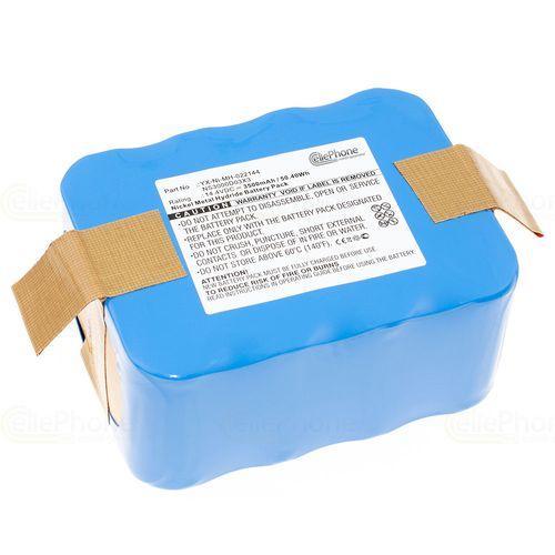 cellePhone Battery Ni-MH for Klarstein Saugroboter JNB-XR210B / JNB-XR210C (replaced NS3000D03X3 / YX-Ni-MH-022144) - 3500 mAh