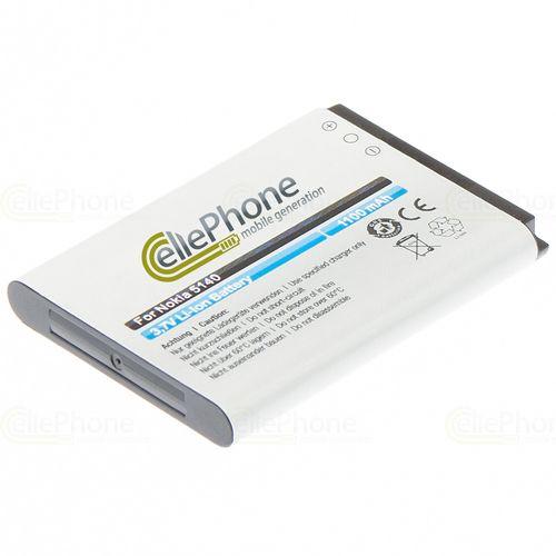 cellePhone Akku Li-Ion kompatibel mit Flextone ECHO HD eR1 (Ersatz für TM5334431S1P)