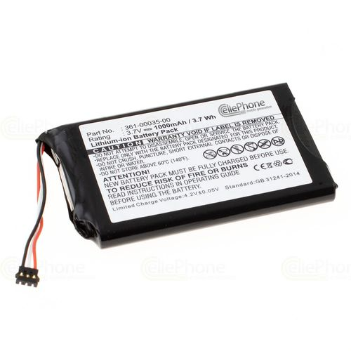 cellePhone Battery Li-Ion for Garmin Nüvi 2300 2300LM 2340LT 2350LMT 2360 2370 2598 LMTHD - Edge Touring Plus + (replaced 361-00035-00)