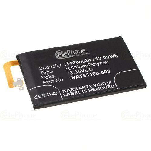 cellePhone Akku Li-Polymer kompatibel mit Blackberry KEYone (Ersatz für BAT-63108-003)