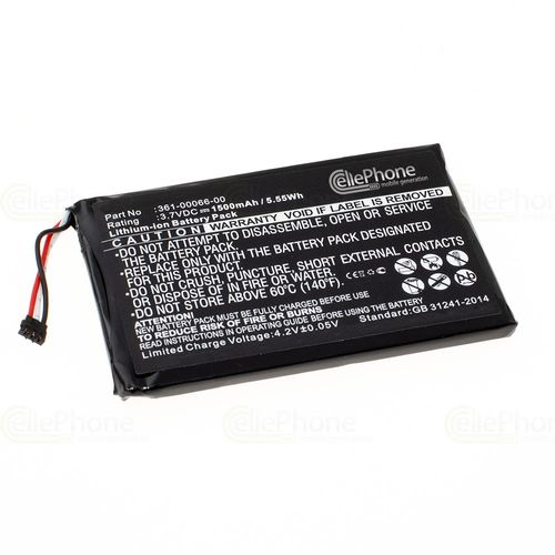 cellePhone Battery Li-Ion for Garmin Nüvi 2757 2757LM 2797 2797LMT - Dezl 760LMT (replaced 361-00066-00)
