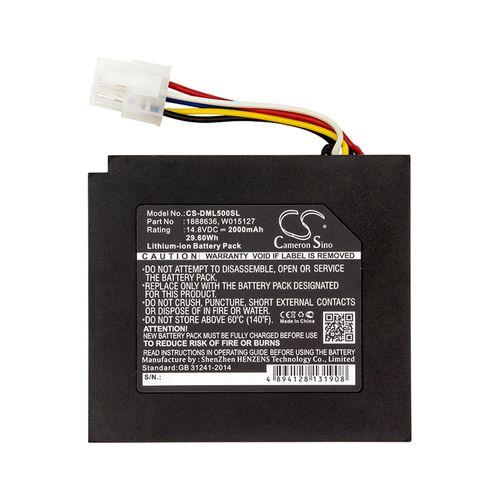 cellePhone Akku Li-Ion kompatibel mit Dymo LabelManager 500TS (Ersatz für 1888636)
