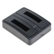 cellePhone Dual Battery Charger for Sony NP-BG1 FG1