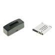 cellePhone Akku-Ladestation + Li-Ion Akku (580mAh) für Sony NP-BN1