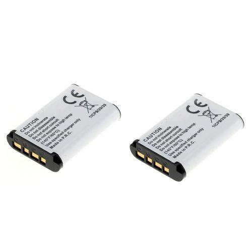 cellePhone Akku Li-Ion kompatibel zu Sony NP-BX1 - 2er Set