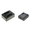 cellePhone Akku-Ladestation Dual + Li-Ion Akku (900mAh) für Rollei DS-SD20