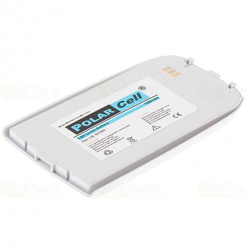 cellePhone PolarCell Akku Li-Ion kompatibel mit LG G7200 - silber