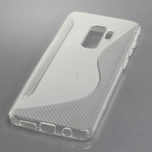 cellePhone TPU Case for Samsung Galaxy S9+ - S-Curve transparent