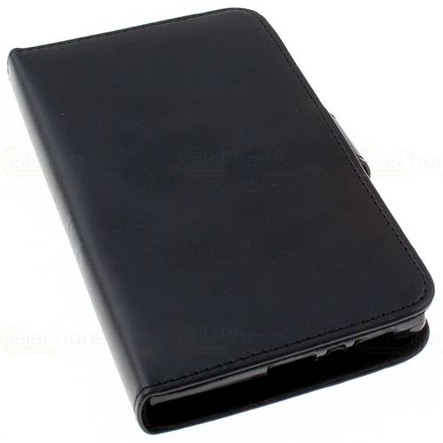 cellePhone Flipcase (imitation leather) for Sony Xperia L2 - black