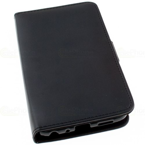 cellePhone Flipcase (imitation leather) for Huawei P Smart - black