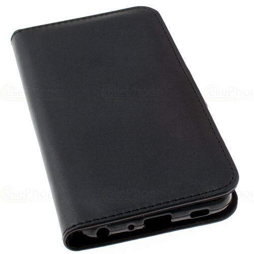 cellePhone Flipcase (imitation leather) for LG G7 ThinQ - black