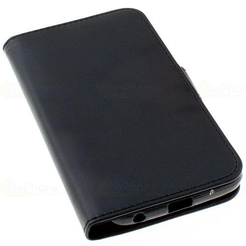 cellePhone Flipcase (imitation leather) for Motorola Moto G6 - black