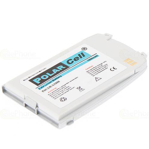 cellePhone PolarCell Akku Li-Ion kompatibel mit LG L1200 - silber