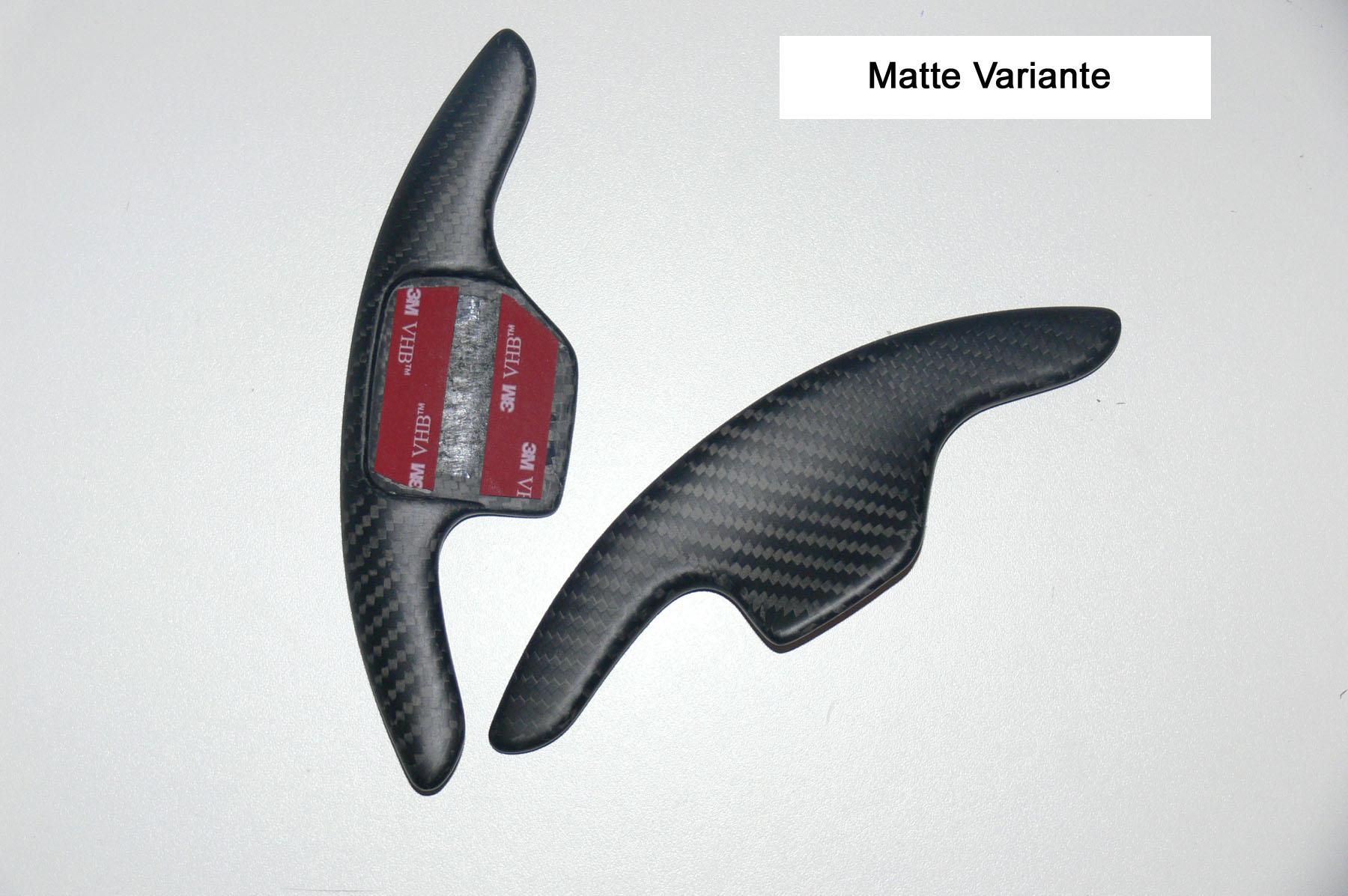 V1 Carbon Schaltwippen-Verlängerung passt für Audi Q5 8R Q7 R8 TT TTS TTRS 8J