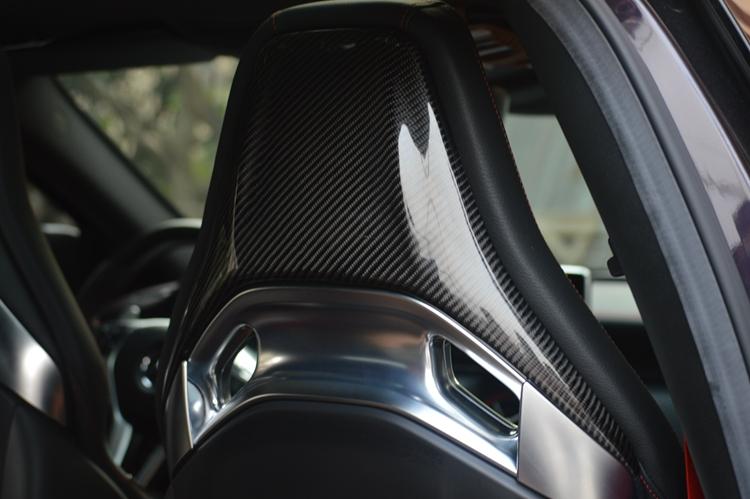 carbon sitzabdeckung sitze passend f r mercedes cla c117. Black Bedroom Furniture Sets. Home Design Ideas