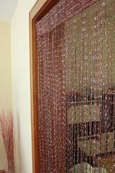 Fadenvorhang mit Glitzer Türvorhang Fliegenschutz Vorhang 9 Farben – Bild 7