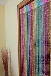 Fadenvorhang mit Glitzer Türvorhang Fliegenschutz Vorhang 9 Farben – Bild 10