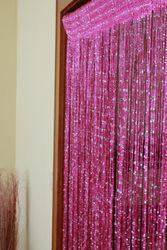 Fadenvorhang mit Glitzer Türvorhang Fliegenschutz Vorhang 9 Farben – Bild 4