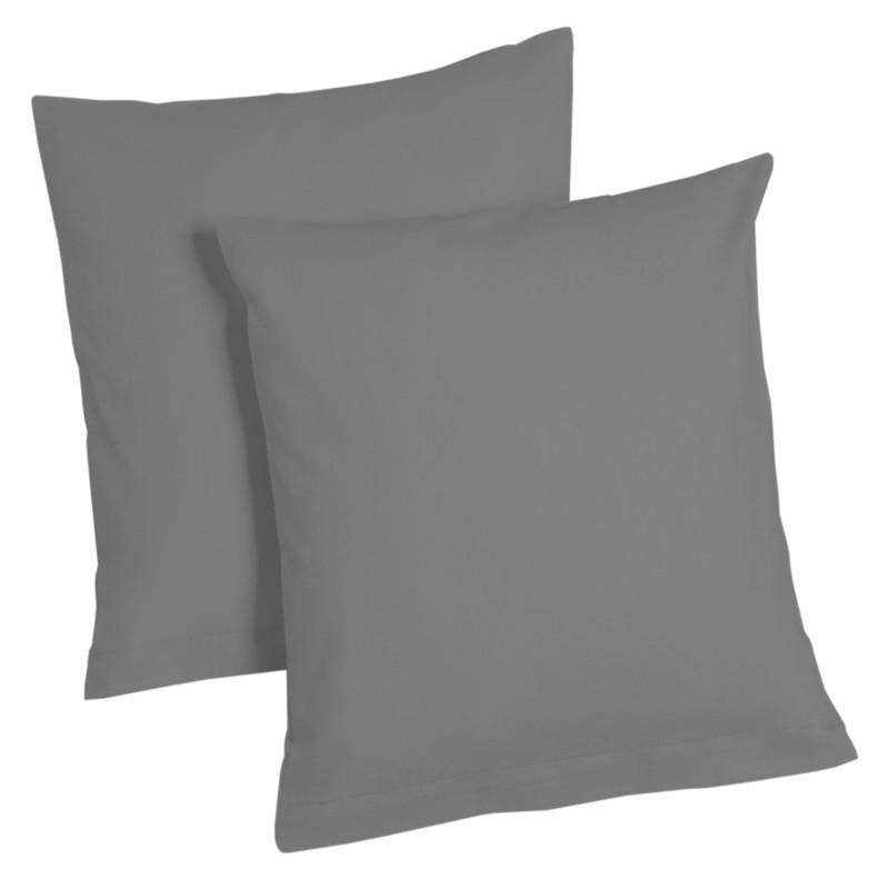 2er pack microfaser kissenbezug kissenh lle dekokissen couch 80x80 40x80 40x40 ebay. Black Bedroom Furniture Sets. Home Design Ideas
